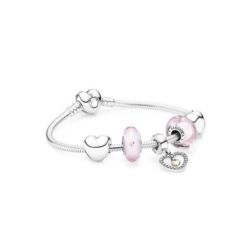pandora bracelet coeur
