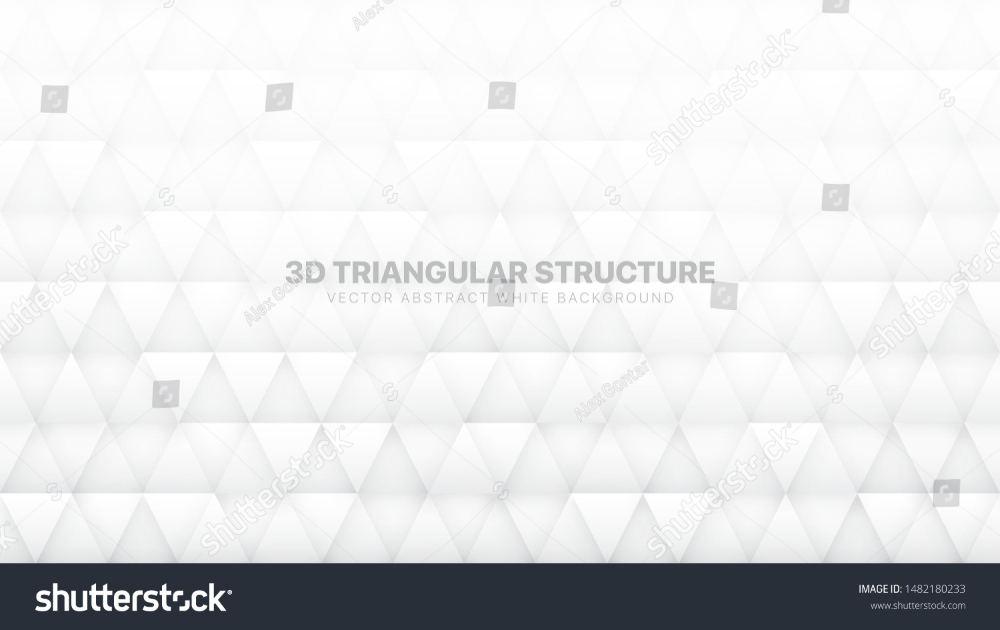 3d Vector Triangle Particles Technological White Abstract Background Three Dimensional Science Conceptual Technology Triangular Vector Triangle Lit Wallpaper