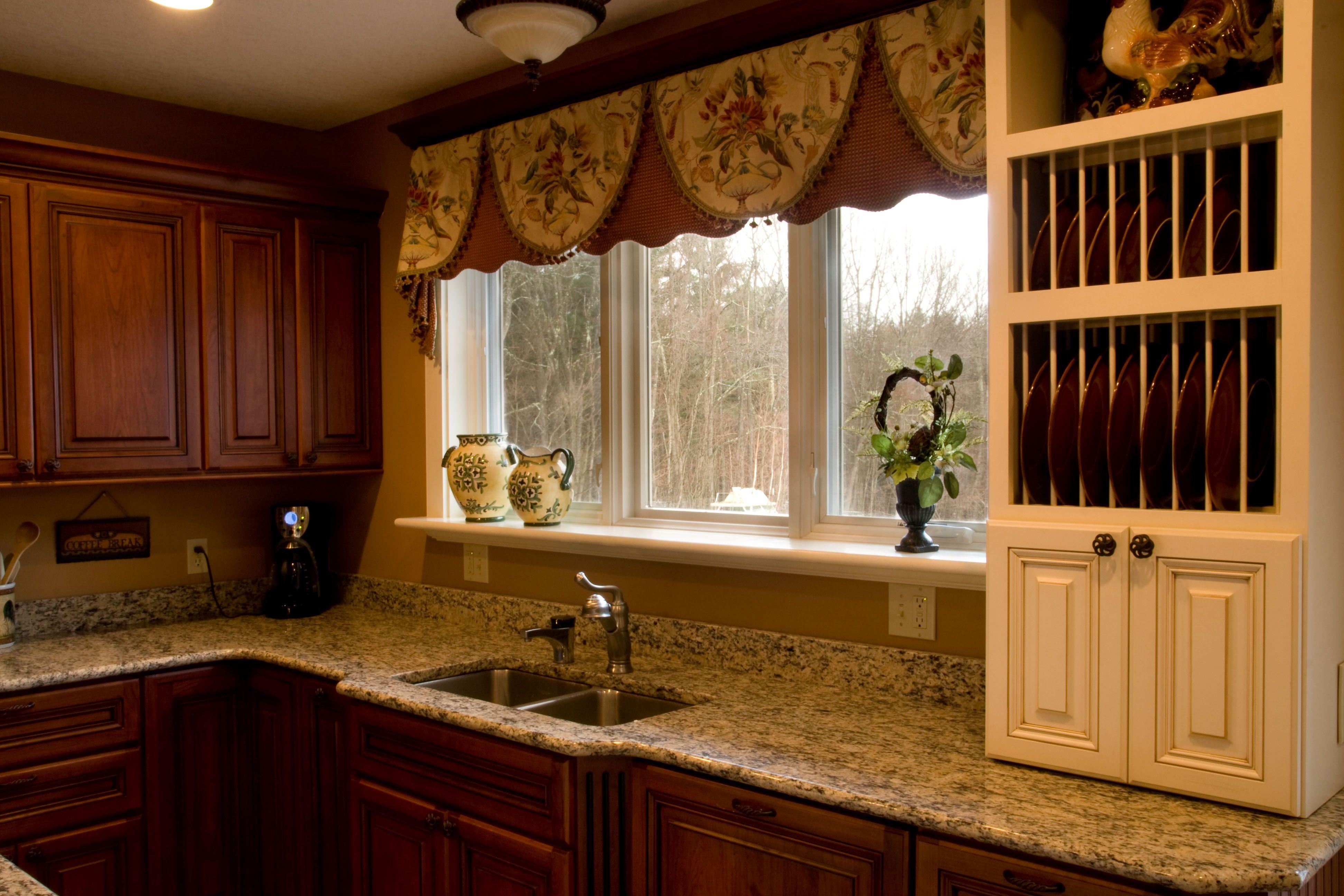 Kitchen window curtains - 17 Best Images About Kitchen Window Treatments On Pinterest Kitchens Valance Ideas And Fabrics