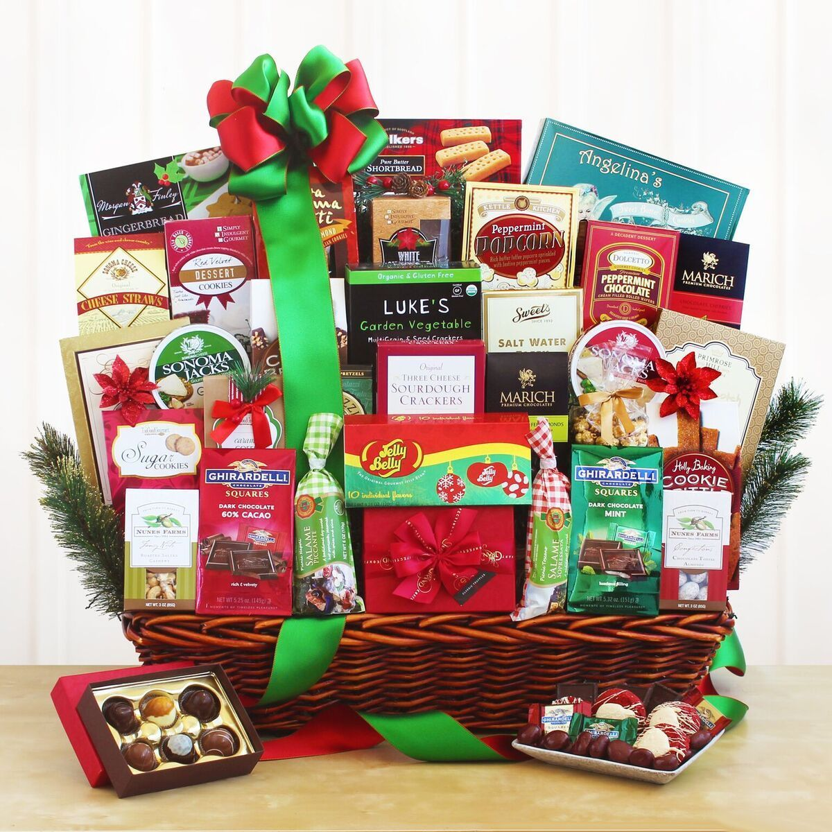 Ultimate Holiday Gourmet Corporate Gift Baskets Christmas Corporate Gifts Gourmet Gift Baskets