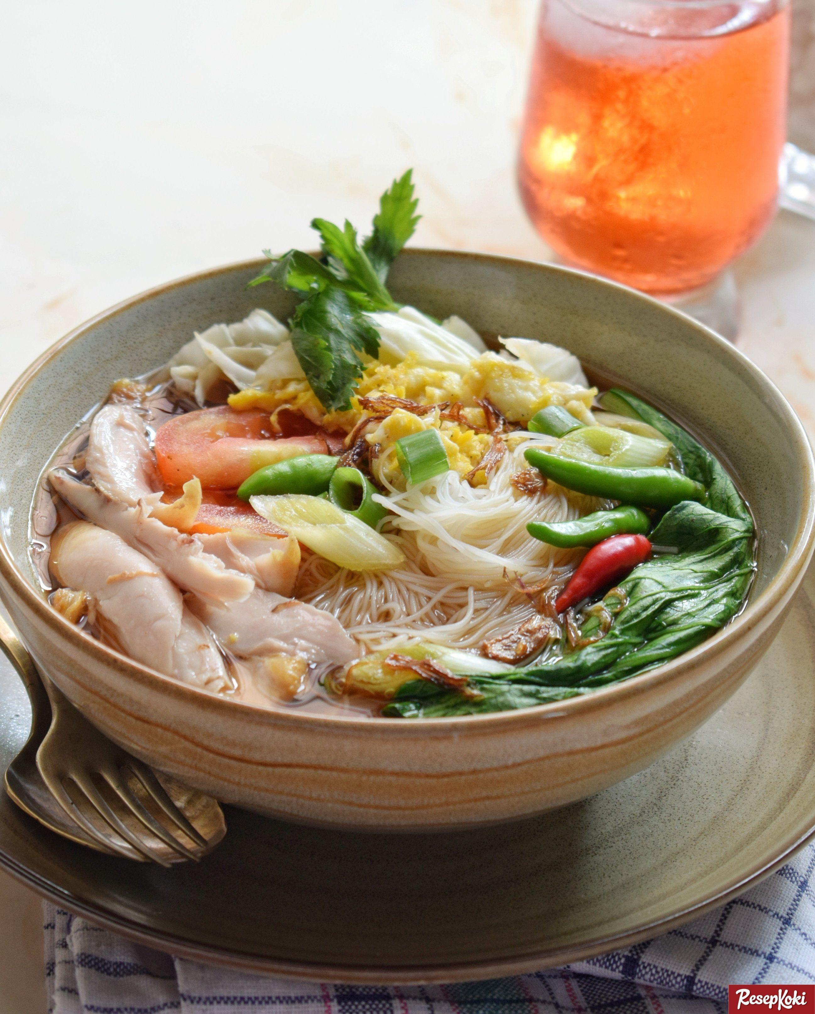 Bihun Kuah Gurih Sedap Praktis Cepat Sekejap Resep Resepkoki Resep Resep Resep Masakan Malaysia Masakan