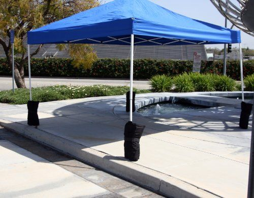 Canopy Sand Bag Anchor Kitset Of 6 Tent Pole Weights Want To Know More Click On The Image This Is An Affiliate Link Tent Poles Gazebo Tent Patio
