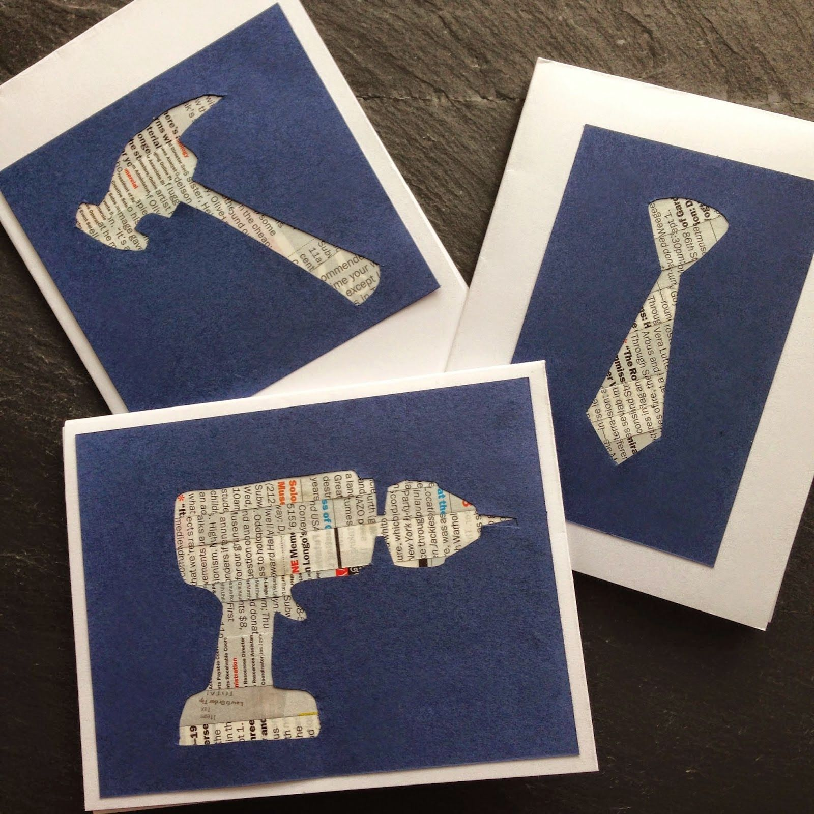 Cool too, and tie father's day cards | Worthwhile Wednesdays Link ...