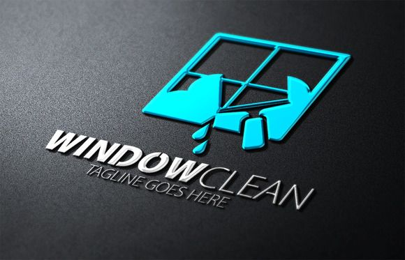 Clean Cleaning Logo Logo Design Template Logo Templates