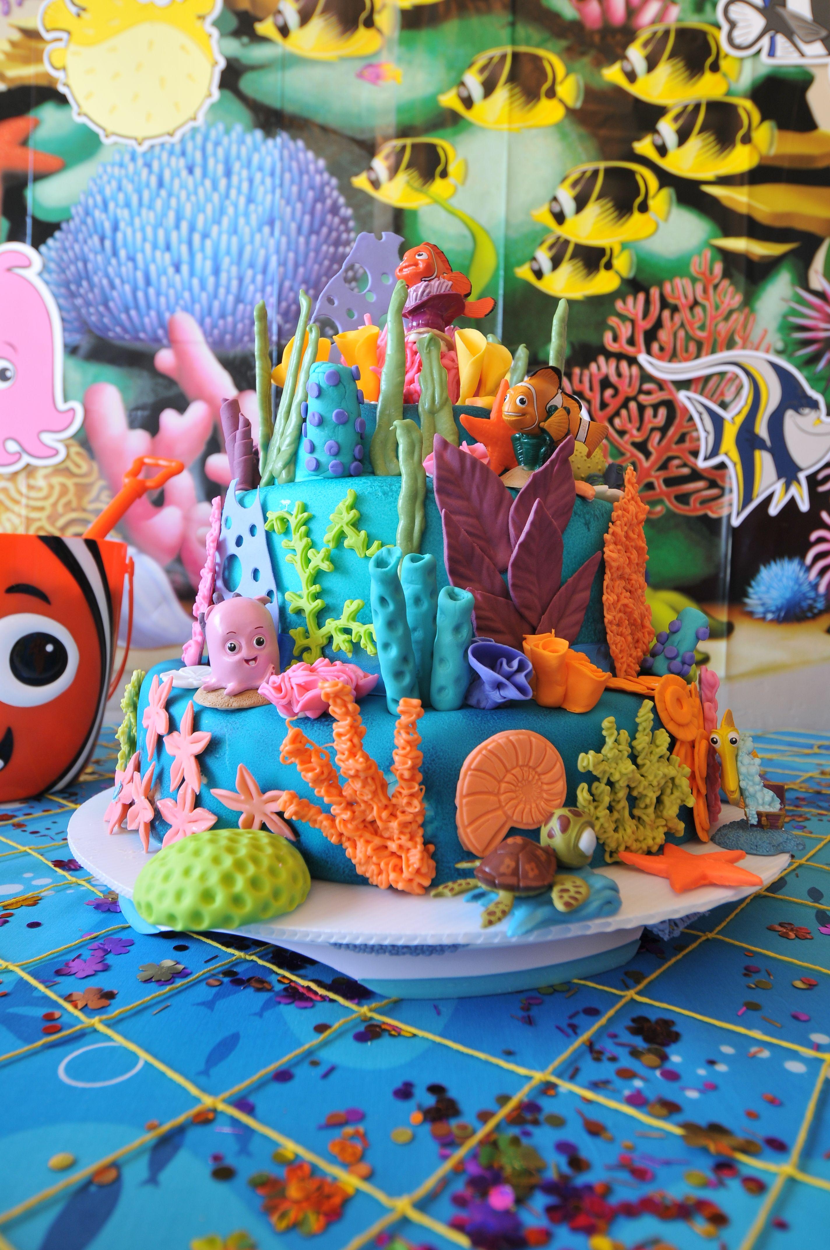 Finding Nemo Baby Shower Cake Disney Finding Nemo Themed Baby