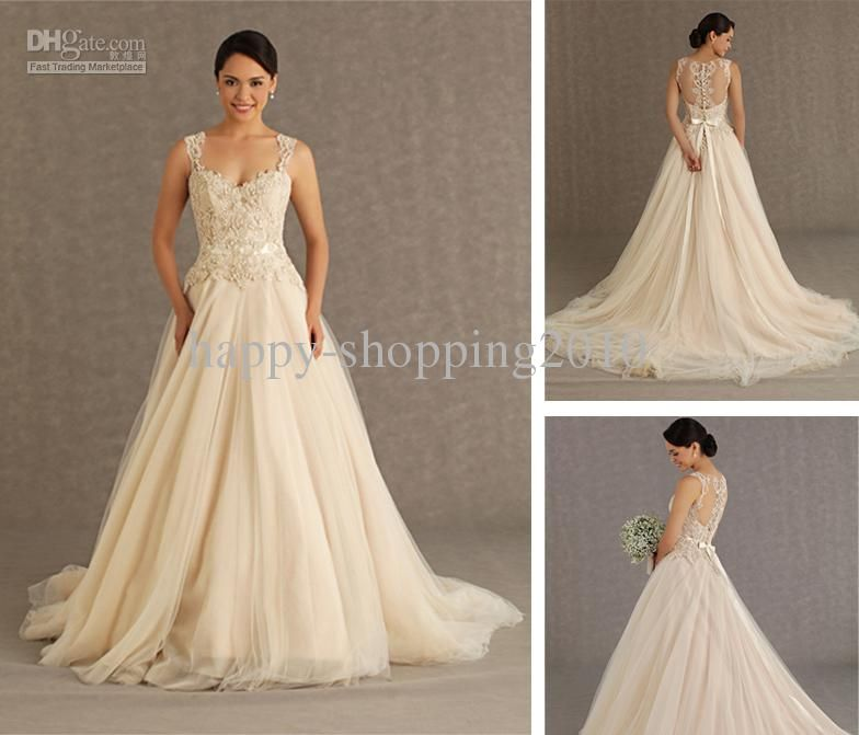 Veluz Reyes 2013 Wedding Dress Tulle Bottom Lace Satin Top
