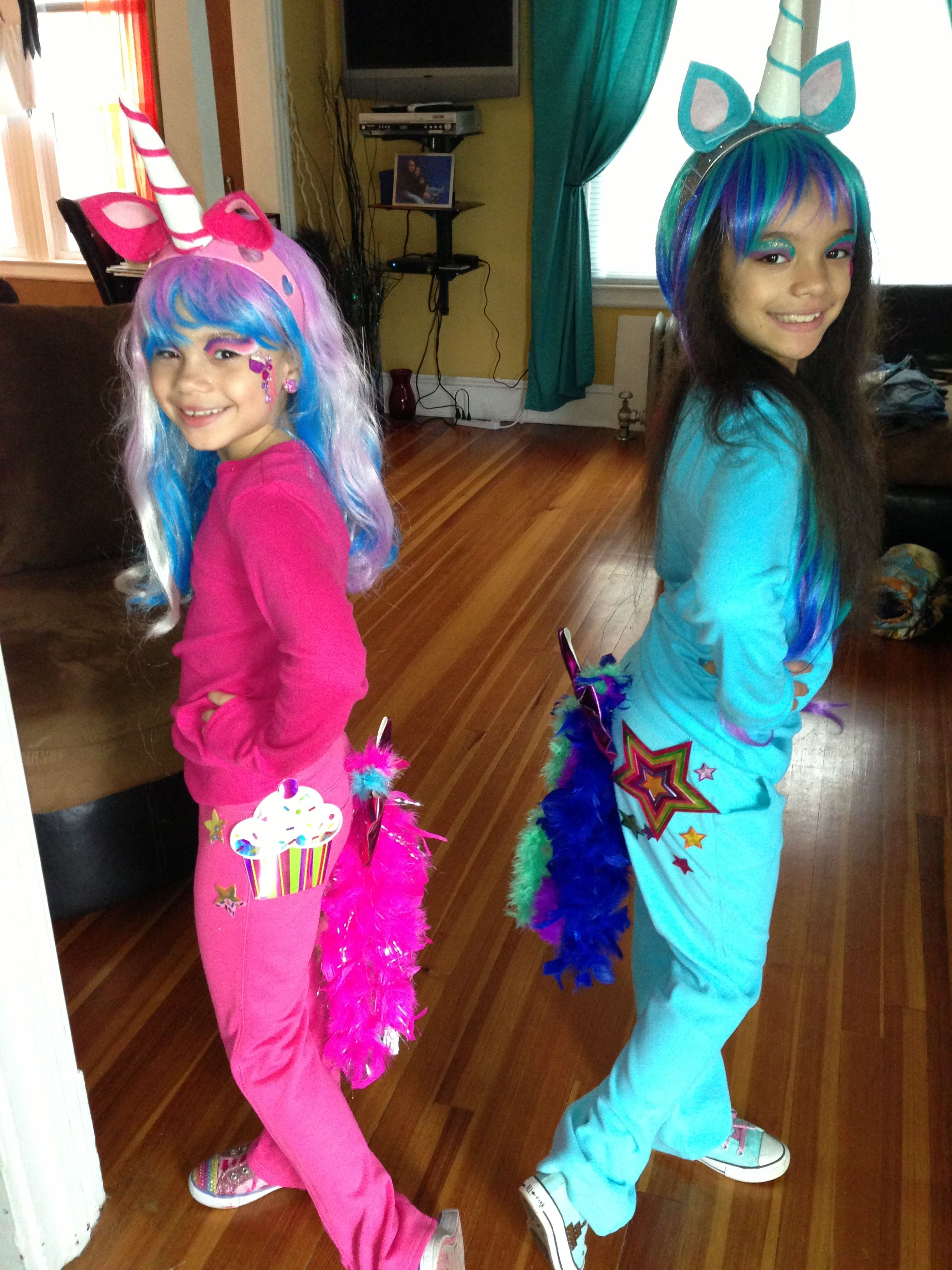 Pony Costume Ideas Diy My Little Pony Costumes I Love The Feather Boa For The Tail