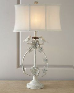 Ivory bird iron table lamp shabby chic home lighting horchow iron ivory bird iron table lamp shabby chic home lighting horchow ebay aloadofball Gallery
