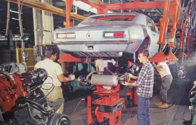 1967 Camaro Assembly Line Camaros Pinterest 1967