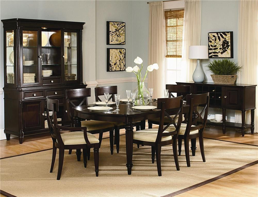buy dining room set clarity photographs | dining room sets | Buy Tuxedo Park Dining Room Set by ...