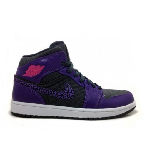 Air Jordan 1 Phat Anthracite Club Purple Spark 364770-025