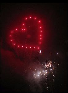 Heart Shaped Fireworks Knew It Could Be Done