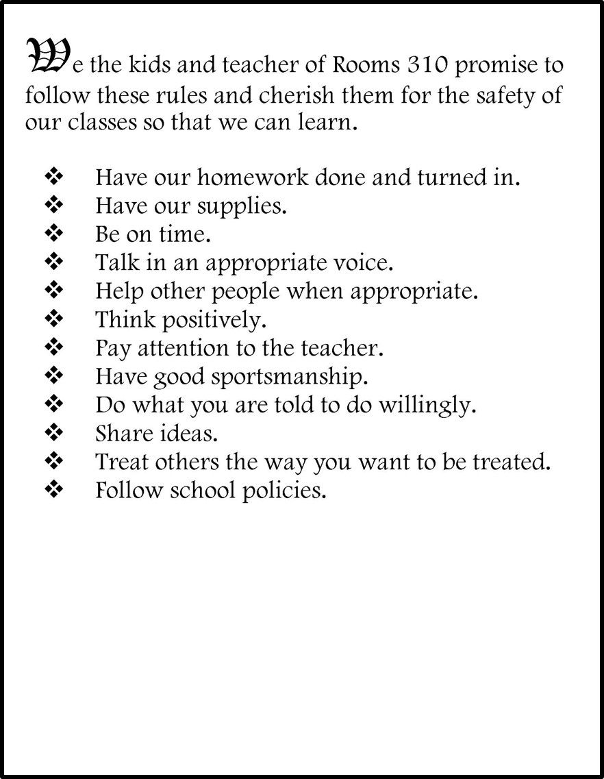 Creating A Classroom Constitution Classroom Constitution Classroom Rules Student Teaching Survival