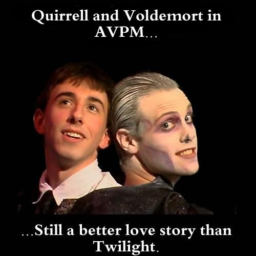Quirrell Voldemort Avpm Still A Better Love Story Than Twilight