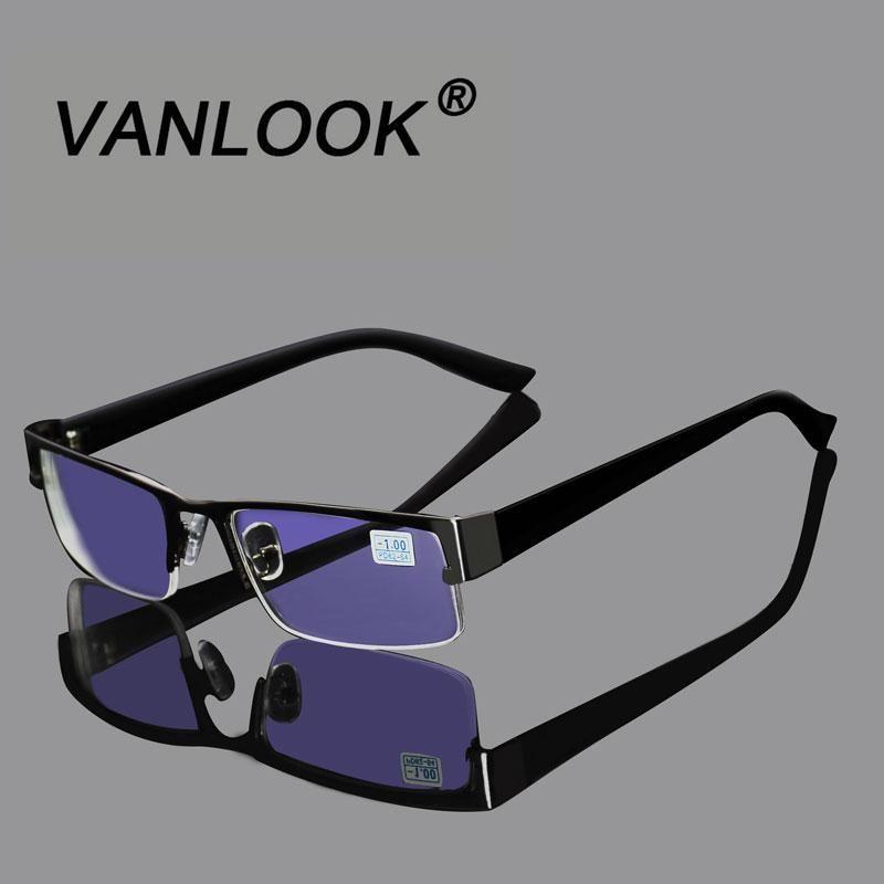 Stainless Myopia Glasses For The Computer Men Eyeglasses