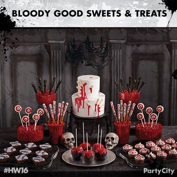 Check out 6 dreadfully good treats! Wow your guests with a severed