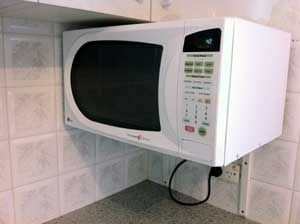 Mounted Microwave Wall Mount