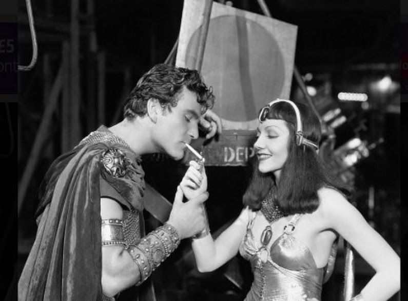 old hollywood lighting. Cleopatra Lighting Mark Antony\u0027s Cig On Set Of Cecil B. DeMille\u0027s 1934 Movie CLEOPATRA - Old Hollywood