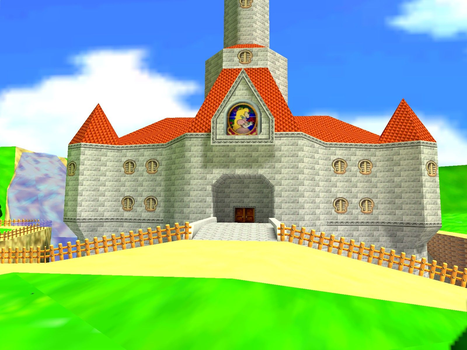 Princess Peach Castle Play Houses House Styles Classic