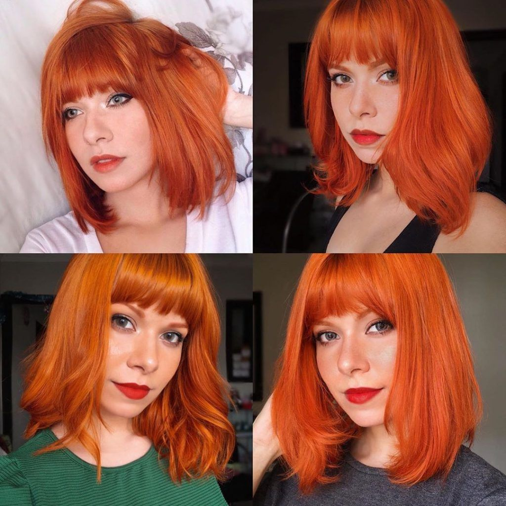 10 Chic Ideas Of Shoulder Length Hairstyles Page 2 Of 3 Hannahsdaily In 2020 Bobs Haircuts Red Bob Haircut Bob Hairstyles