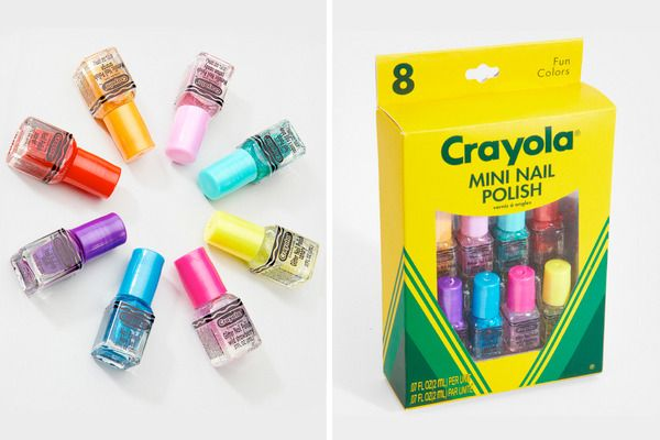 Crayola Colors For Your Nails Con Imagenes Las Unas Crayones