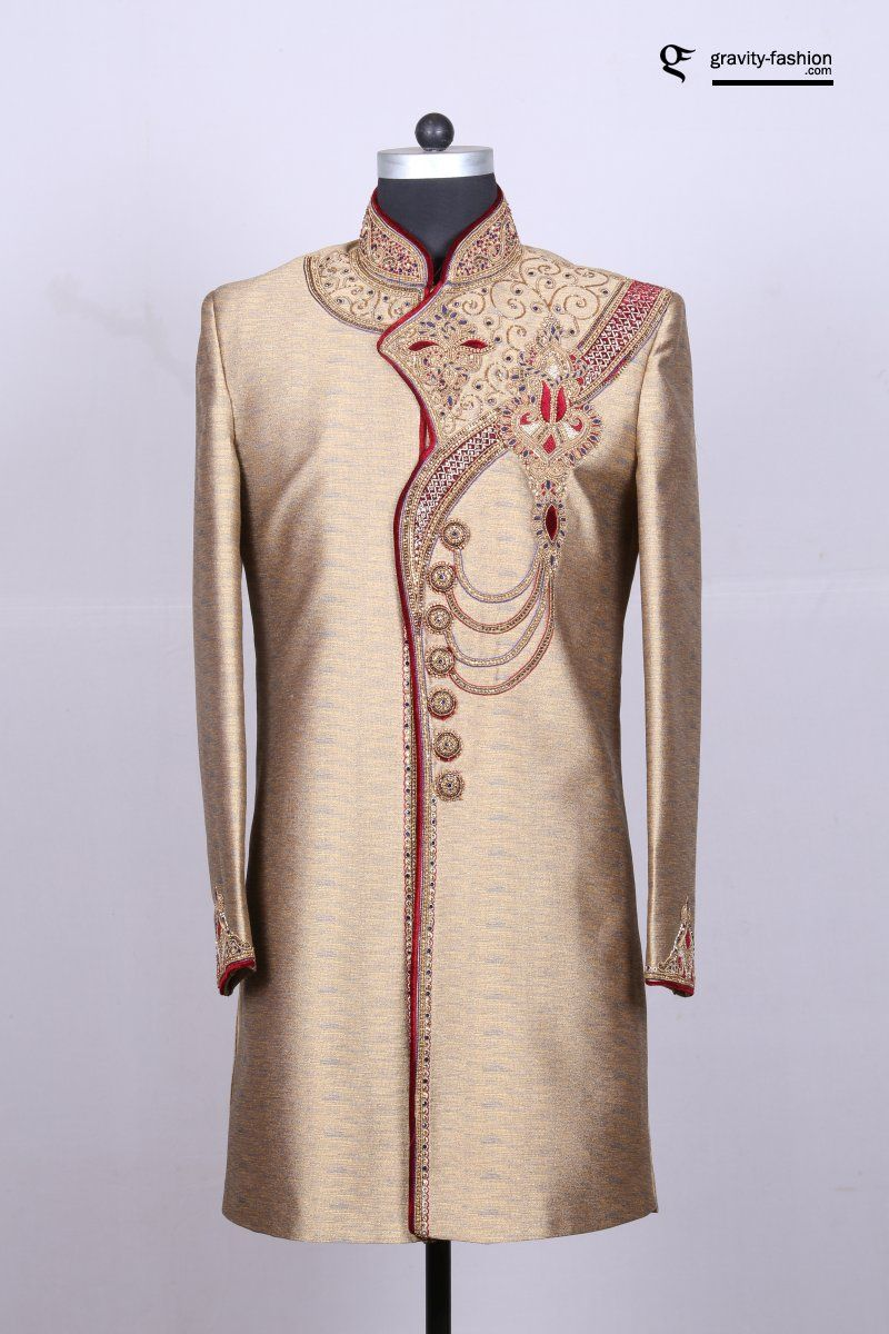 exclusive sherwani designs for groom shot pinterest