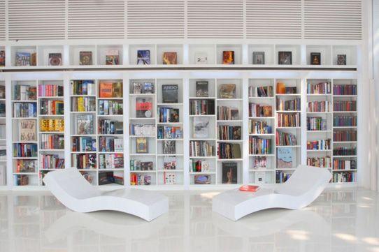 Biblioteca moderna Decoración Pinterest Biblioteca moderna - bibliotecas modernas en casa