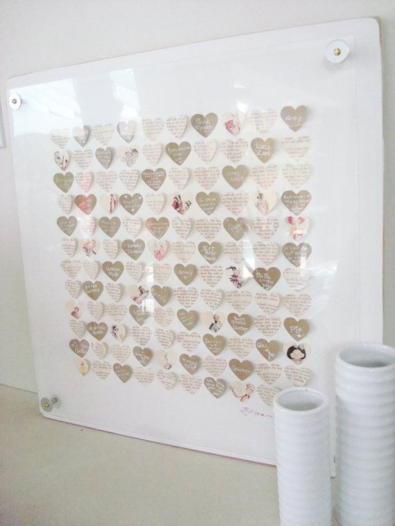 Great idea but can easily be a diy project baby shower guest great idea but can easily be a diy project baby shower guest book personalized negle Choice Image