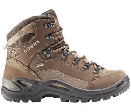 Zapatos marrones estilo militar Lowa para mujer AFbav