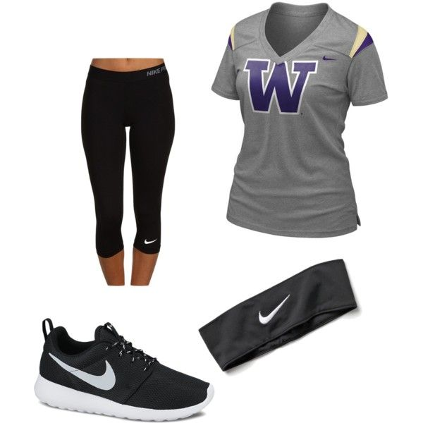go dawgs by ande-ains on Polyvore featuring polyvore fashion style NIKE
