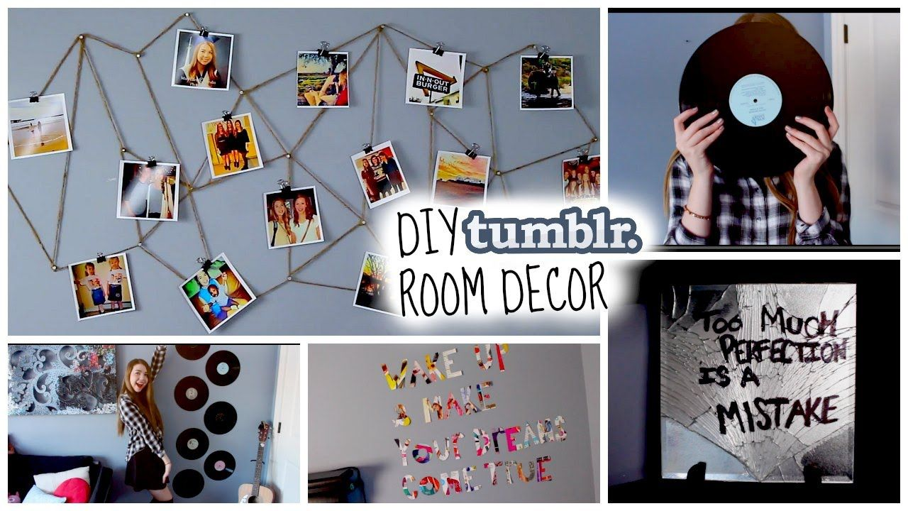 mirror diy tumblr inspired room decor cute cheap make your