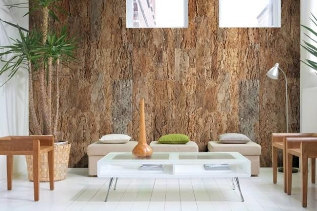 10 Modern Ideas To Refresh Interior Design And Decorating In Eco Style In 2020 Cork Wall Tiles Cork Flooring Cork Wall Panels