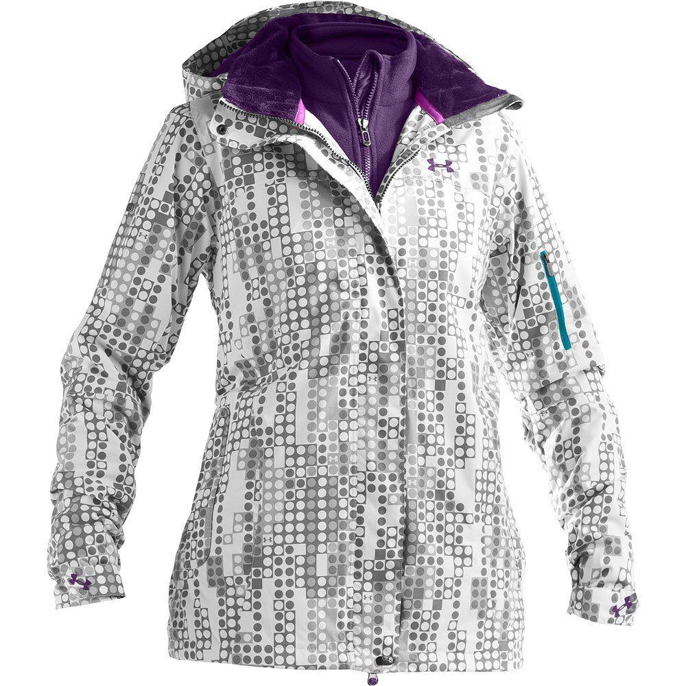 under armour jacket women white