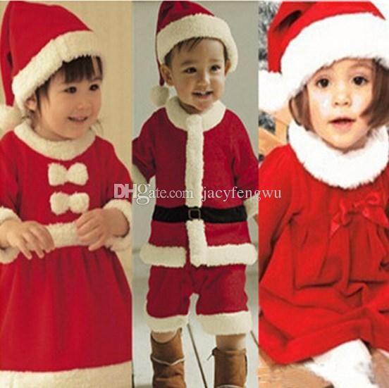 Christmas Newborn Baby Boys Girls Clothing Infant Fleece Clothes