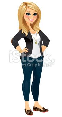 New iStock Designs! | Menina loira, Mulheres loiras ...