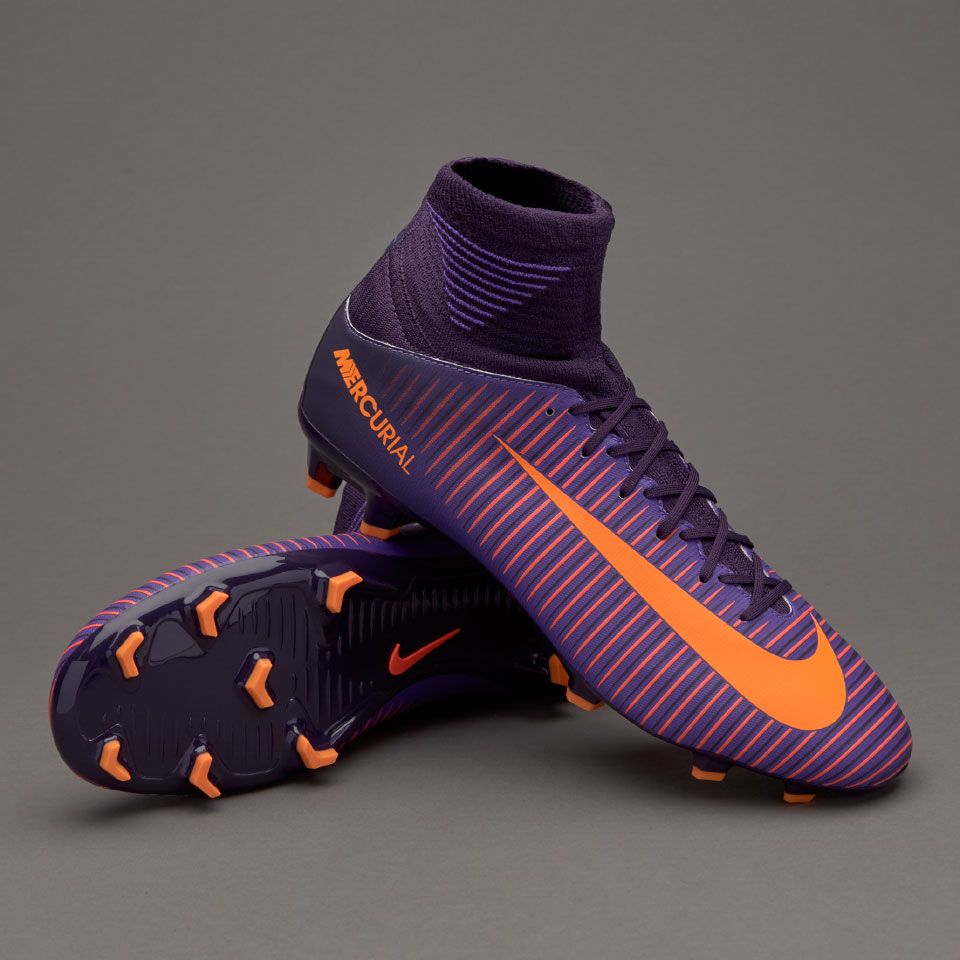 01544a55b ... Nike Kids Mercurial Superfly V FG - Junior Boots - Firm Ground - Purple  DynastyBright CitrusHyper ...