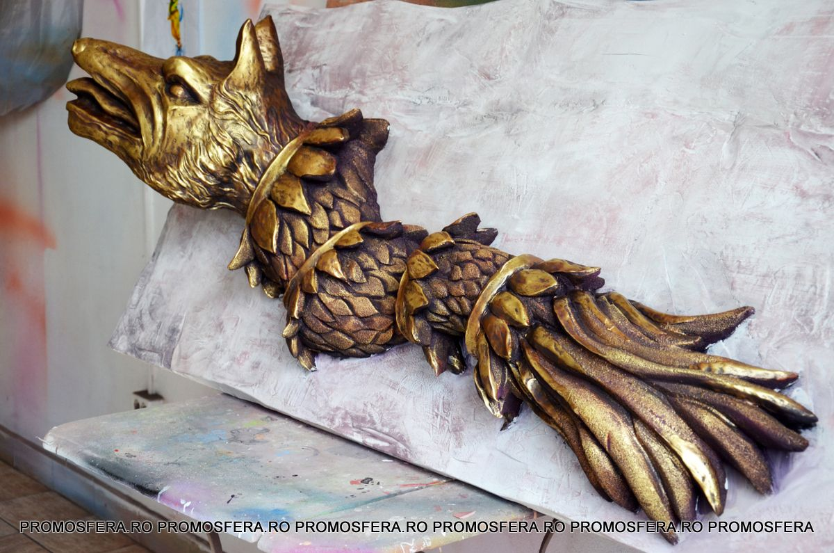 Dacian Wolf Decoration...