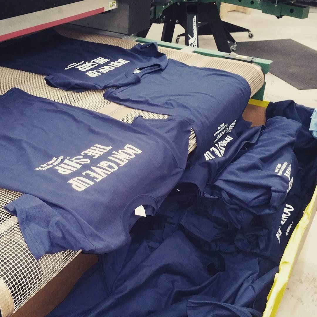 Screening a ton of shirts