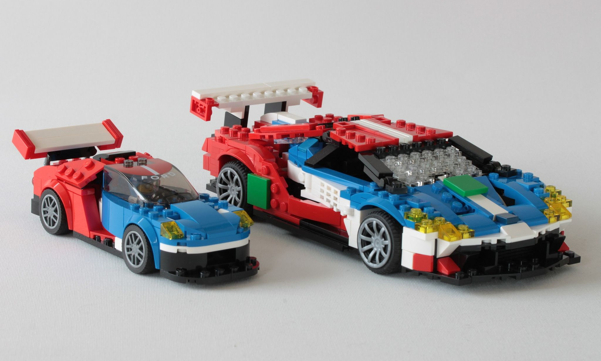 Without Makeup Ford Gt Speed Champion Vs Peter Blackert Lego Cars