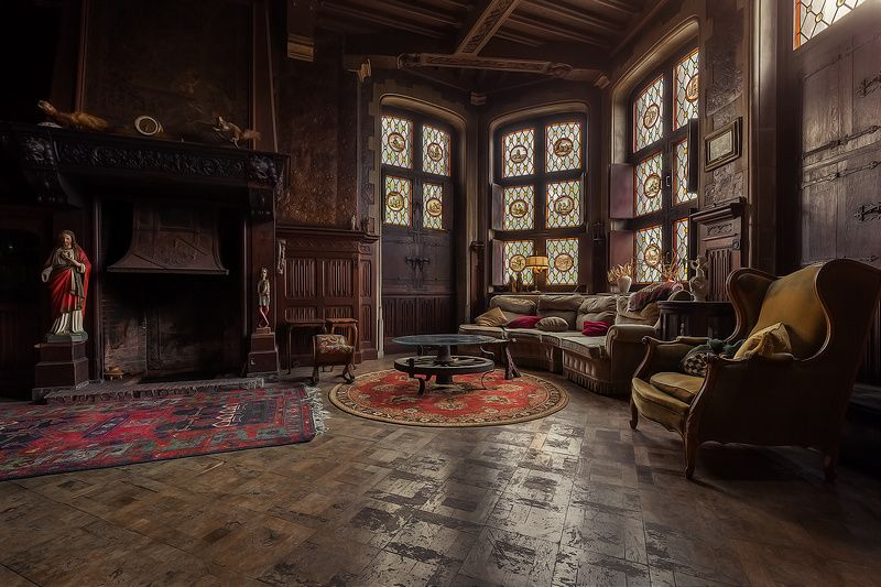 The Living Room Mansion Living Room Creepy Old Houses Old House Living Room