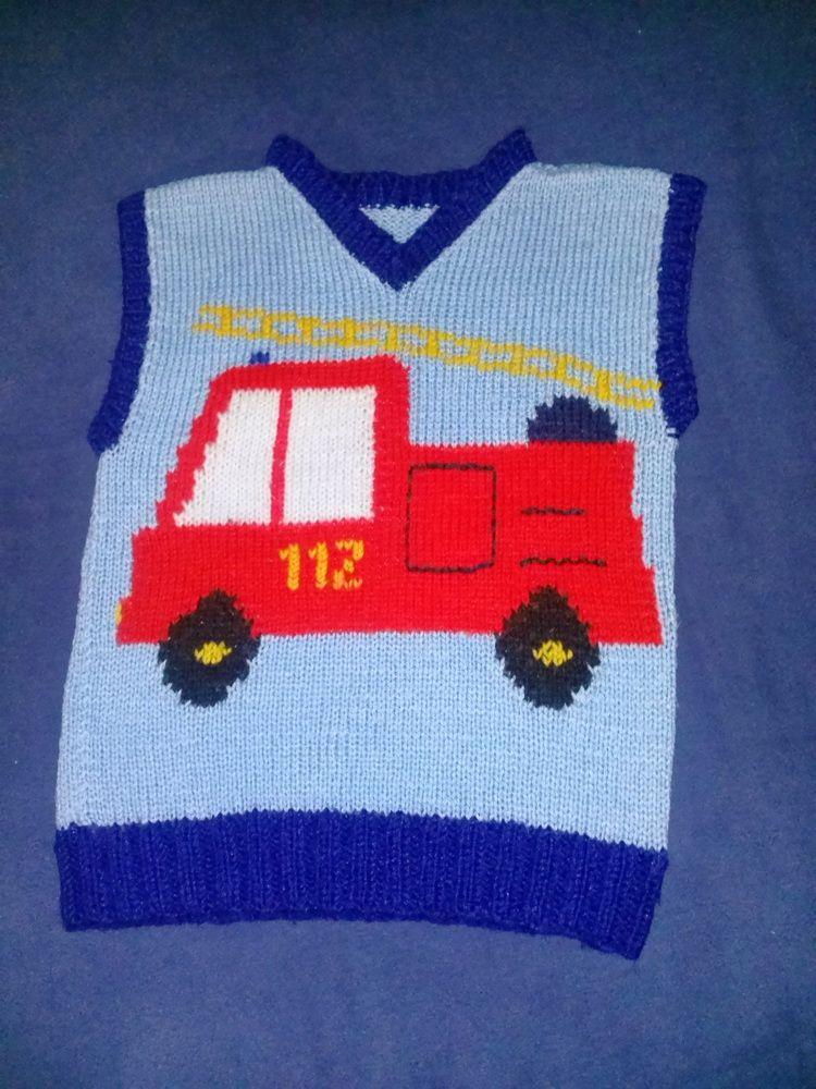 Feuerwehr Weste Stricken Und Häkeln Pinterest Knitting Baby