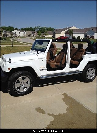 White Jeep With No Doors Will Be My Definite Summer Toy Once I