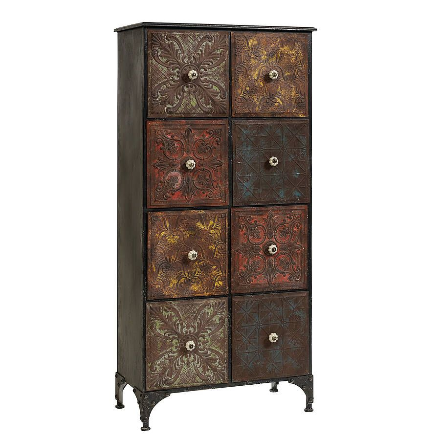 Iron Cabinet With Draws