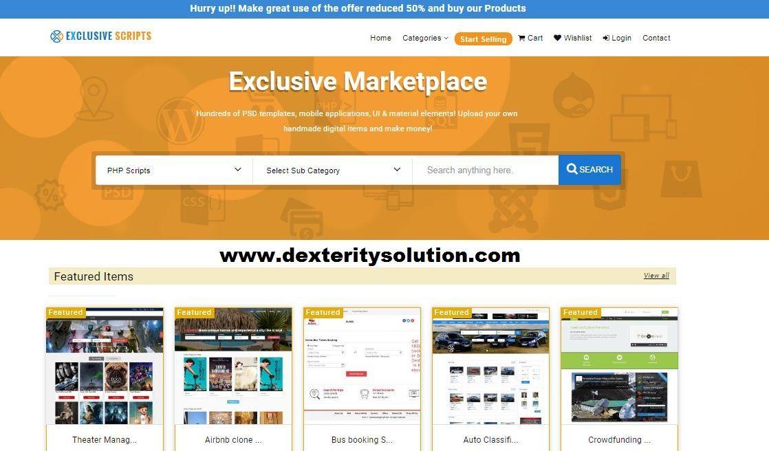 Marketplace Script, Multi Vendor Marketplace Script, Open
