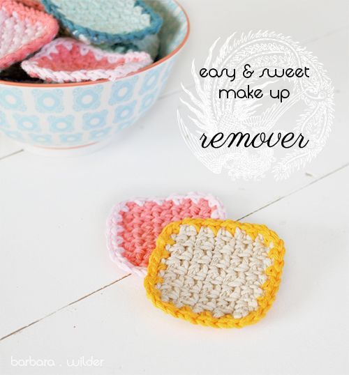 makeup remover pads, tutorial by raumselig. | Crafts | Pinterest ...