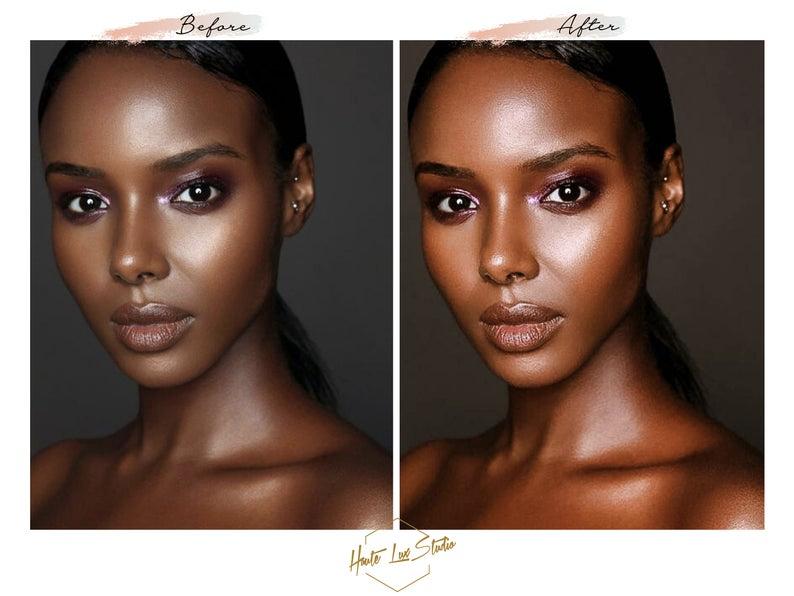 8 Melanin Beauty Presets Black Girl Magic Presets Chocolate Etsy Melanin Beauty Melanin Skin Brown Skin Tone