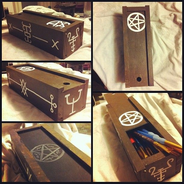 diy supernatural crafts supernatural crafts supernatural curse box by monteyroo
