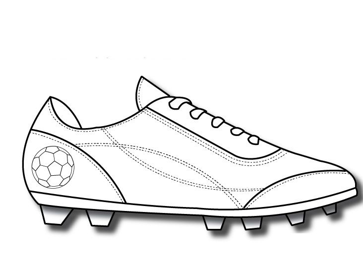 Patron Pattern World Cup Kids Soccer Football Printables