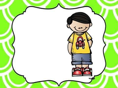 Marco para gafete Más | Vzdělávání | Pinterest | Namenskarten und Kind