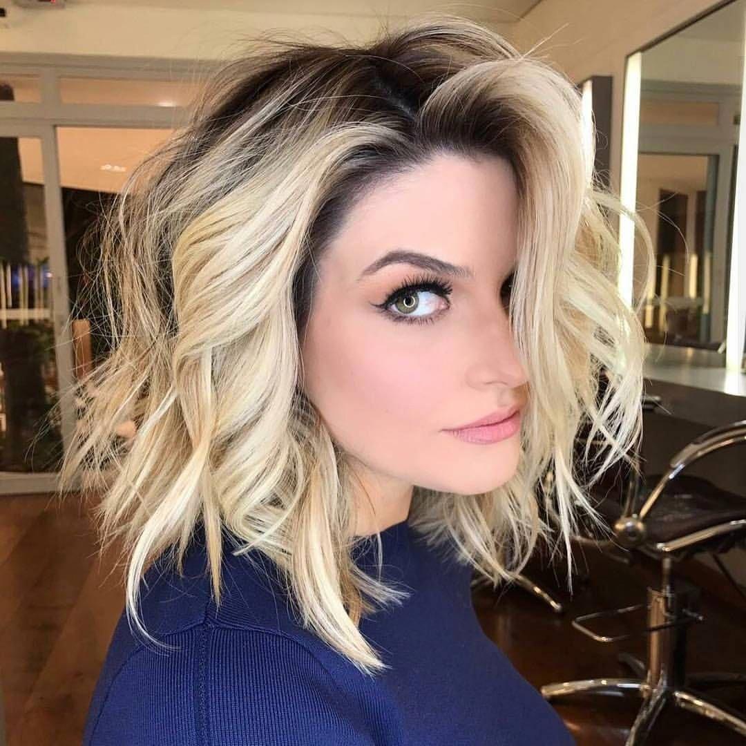 10 latest medium wavy hair styles for women: shoulder length